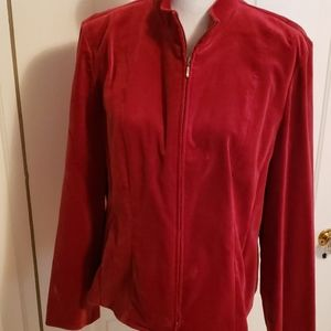 TALBOTS RED JACKET